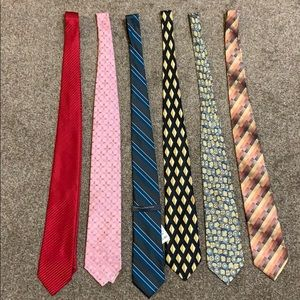 Other - Set of 6 Ties